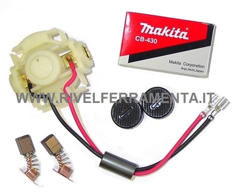 TW 0350 Spazzole carbone Makita Avvitatore elettrico 6950 TW 0200 6951